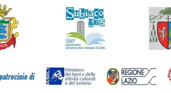 SUBIACO 2015: Da marzo ad ottobre una serie di iniziative per celebrare il 550° anniversario della stampa italiana a caratteri mobili