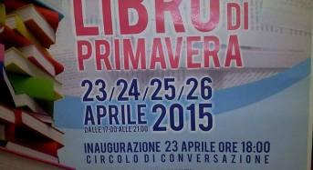 """Acate. Circolo di Conversazione: """"Festa del libro di primavera"""". Dal 23 al 26 aprile 2015."""