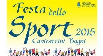Dal 21 giugno al 3 luglio a Canicattini Bagni la Festa dello Sport 2015