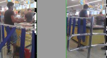 Uomo tenta di rubare, ripreso da smartphone e postato su Facebook: I carabinieri lo arrestano