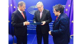 UE. 60 anni fa Conferenza Messina, Ardizzone incontra Junker