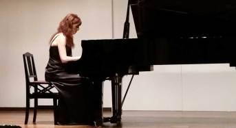 Nuova tournée giapponese per la pianista ragusana Laura Nocchiero