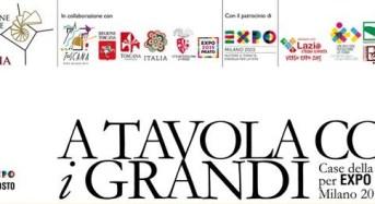 """""""A tavola con i Grandi"""" , il Castello di  Donnafugata ospite e protagonista a Expo 2015"""