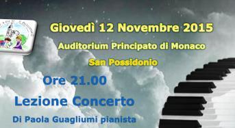 San Possidonio. Lezione Concerto della pianista, Paola Guagliumi.