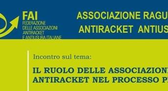 """""""Il ruolo delle Associazioni antiracket nel processo penale"""", incontro alla Prefettura di Ragusa."""