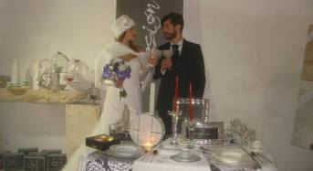 Acate. Abiti da sposa e moda al Castello dei Principi di Biscari.
