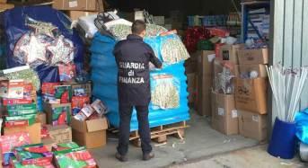 Cosenza. Cinque milioni di luminarie natalizie contraffatte o pericolose sequestrate