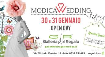 "Modica. Galleria del Regalo presenta ""Modica Wedding Day"". La Style Agency Special Guest."