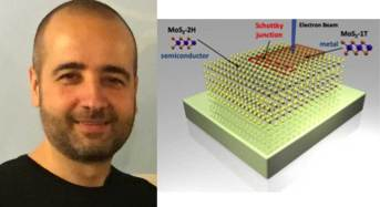 Un dispositivo elettronico dello spessore di un singolo atomo