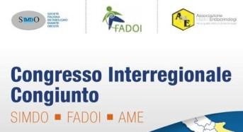 Al via il congresso interregionale congiunto: SIMDO-FADOI-AME