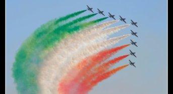 Il 25 settembre a Donnalucata uno straordinario evento: Lo show dell'aria della pattuglia acrobatica delle Frecce tricolori