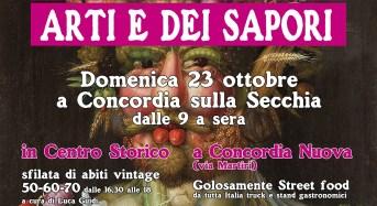 """Concordia sulla Secchia (Mo). Ritorna il """"Mercato delle Arti e dei Sapori""""."""