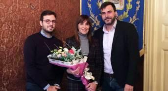 Vittoria. Moscato e Nicosia ricevono in Municipio Giuseppina Torre