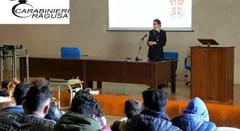 """Ragusa, i carabinieri incontrano gli studenti  all'Istituto Tecnico """"G. Ferraris"""""""