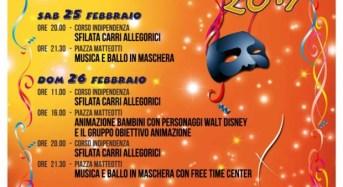 """Acate. """"Carnevale Acatese 2017"""". Le dichiarazioni del sindaco Raffo ed il Programma."""