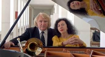 """Ragusa. Lo straordinario """"poeta del trombone"""", Kiril Ribarski, insieme alla pianista Milica Sperovik sul palco di """"Melodica"""""""
