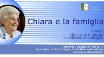 Ricordo di Chiara Lubich nel suo IX anniversario. Eventi in Sicilia