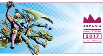 Arcadia Comics&Games 2017, dal 12 al 14 maggio, quest'anno a Ragusa Ibla