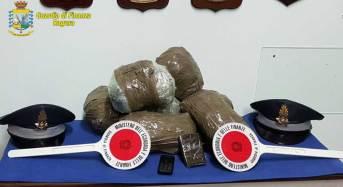 Operazione antidroga GdF: Arrestati due spacciatori di Pachino diretti a Malta con 4 kg. di sostanze stupefacenti