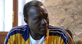 Mamadou Dioume a Comiso per International Theatre Centre