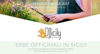 """Gli Aromi: Presentazione """"Officily"""" in programma il 7 aprile tra Scoglitti e Scicli"""