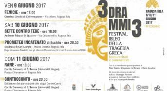 """Il teatro greco a Ragusa Ibla. Torna il festival """"3drammi3"""" nei giardini dei palazzi nobiliari"""