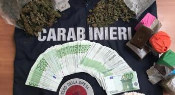 Autosalone come copertura per nascondere la droga da piazzare sul mercato calatino: Titolare in manette