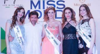 Vincitrici Miss Mondo Sicilia e Calabria: Fascia e corona ad Alessia Tripodi per la Calabria e a Gabriela Farinato per la Sicilia