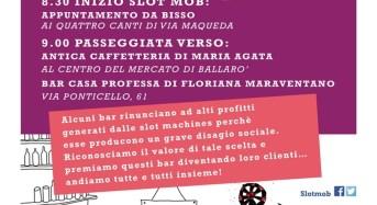 """Palermo. """"Meno Slot machine, più spazio per le persone"""": Il 23 maggio 2017 passeggiata al mercato di Ballarò"""