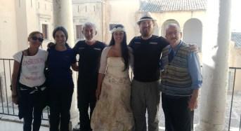 Acate. Visita al Castello dei ricercatori dell'Antica Trasversale Sicula.