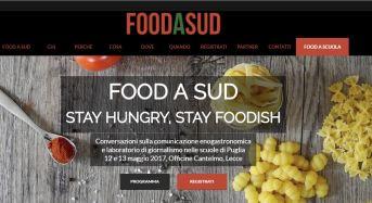 """Nasce a Lecce """"food a sud"""": Rassegna sulla comunicazione e sul giornalismo enogastronomico"""