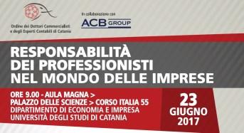 Imprese, a Catania focus su responsabilità dei professionisti