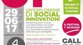 """Innovazione sociale: A Catania la prima edizione del festival """"Straight Up"""""""