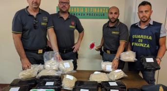 Maxi operazione antidroga. A pozzallo sequestrati 22 chilogrammi di eroina e cocaina