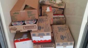 Continuano i controlli ai mezzi adibiti al trasporto di alimenti: La Polizia sequestra alimenti alterati e denuncia due persone.