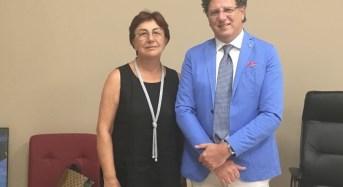 Ragusa, proficuo incontro tra la senatrice Padua e il nuovo commissario dell'ASP 7
