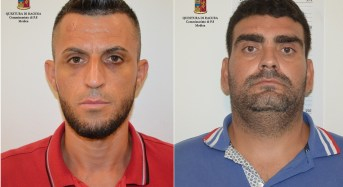 Modica, la Polizia arresta due cittadini albanesi. Erano ricercati sul territorio nazionale.