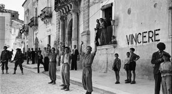 Comiso. Cerimonia consegna fotografie storiche scattate dal fotografo Phil Stern nel 1943