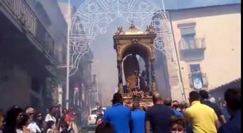 Le due processioni in onore del Patriarca hanno concluso ieri a Giarratana i solenni festeggiamenti