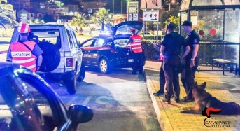 Vittoria. Controlli dei carabinieri nel weekend: 2 persone arrestate, 16 quelle denunciate e 5 segnalate alla prefettura di Ragusa