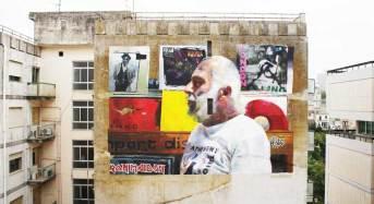FestiWall 2017. Concluso il 4° muro, opera dei siciliani GUE, continua a dipingere Guido Van Helten