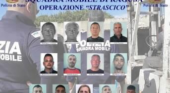 """Ragusa. Operazione """"strascico"""". La Polizia di Stato sgomina banda di 17 ladri seriali specializzati in macchine movimento terra e furti per oltre 1 milione di euro – FOTO E VIDEO"""