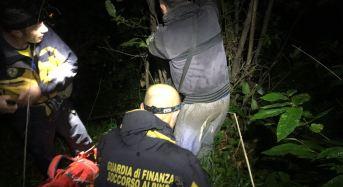 Soccorso alpino Guardia di Finanza di Nicolosi: Nella notte salvato sull'Etna cercatore di funghi
