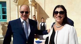 Valentina Spadaro incontra il Principe Alberto di Monaco