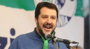 Acate. Visita del segretario nazionale della Lega, Matteo Salvini.