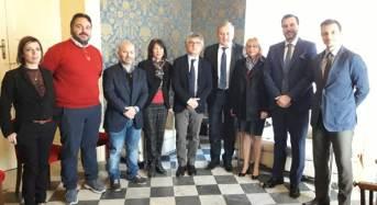 Vittoria. Il console di Romania per il Sud Italia in visita istituzionale a Palazzo Iacono
