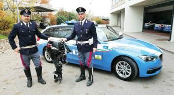 Cittadino romeno fermato dalla Polizia Stradale sulla A/22: trasportava un motore fuoribordo. Denunciato per ricettazione