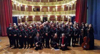 Il coro polifonico dell'associazione enarmonia ieri in concerto a Vittoria, domani a Comiso, il 5 a Ragusa ibla e il 6 a Modica