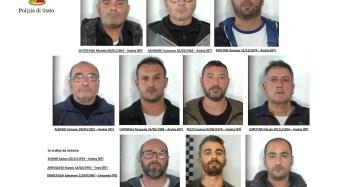 Modena. Operazione evergreen. Sgominata dalla polizia di stato banda di pugliesi dedita al furto di merci: 10 arresti in flagranza di reato