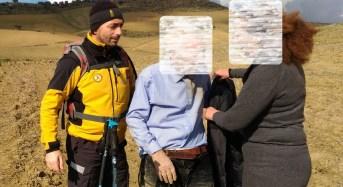 Trovato e salvato l'anziano agricoltore disperso nelle campagne tra Barrafranca e Pietraperzia nell'ennese